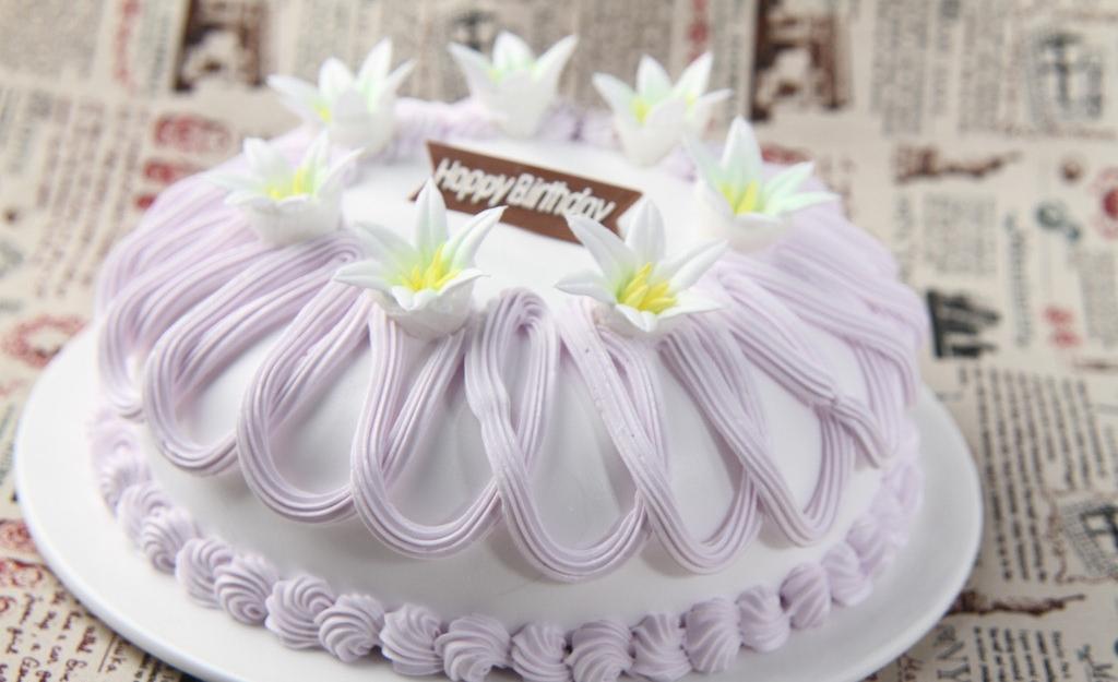 蛋糕裱花之大百合裱花方法
