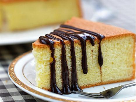 戚风蛋糕图片